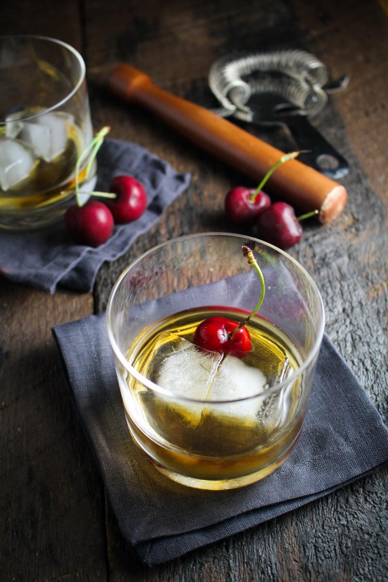 Cherry-Chocolate Bourbon Soda {Katie at the Kitchen Door}
