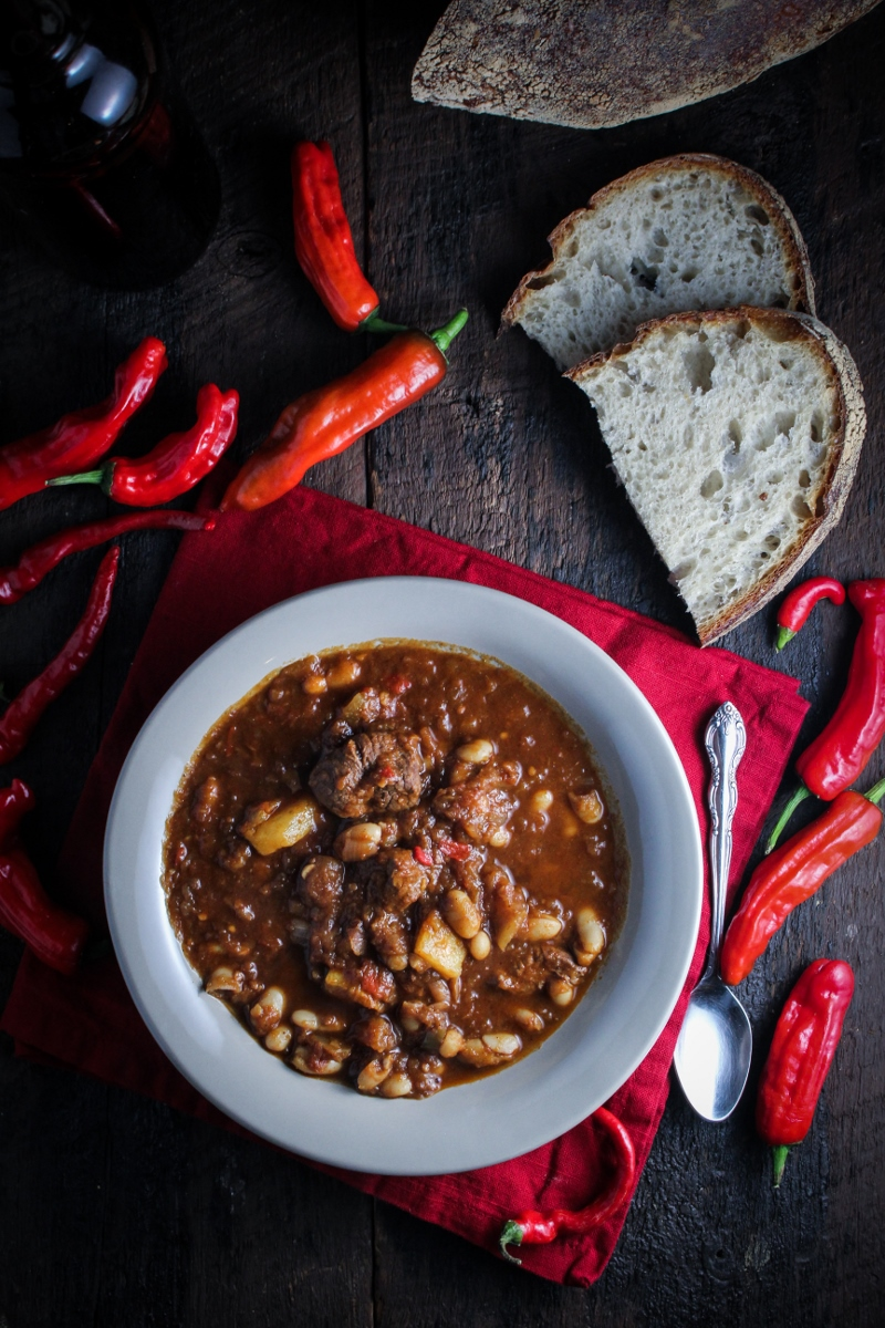 Lamb, Butternut Squash, and White Bean Chili {Katie at the Kitchen Door}