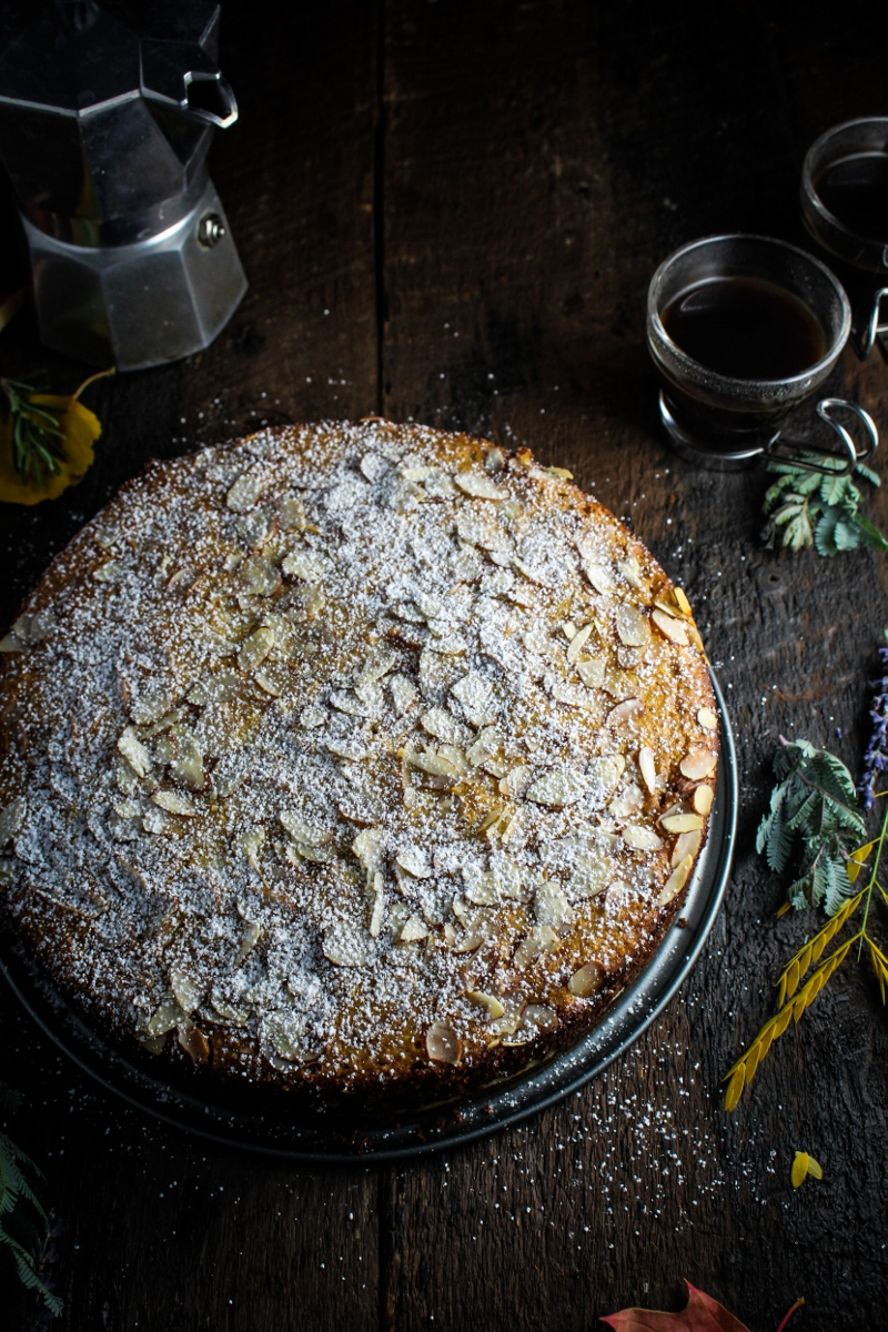 Ricotta and Polenta Almond Cake {Katie at the Kitchen Door}