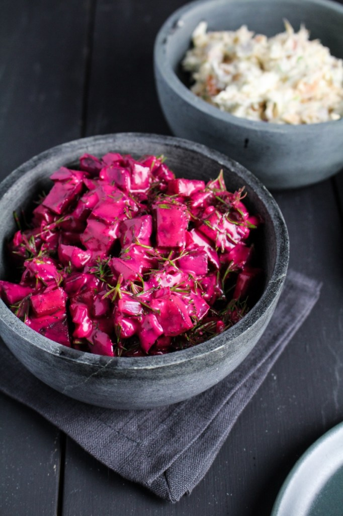 Russian Beet Salad {Katie at the Kitchen Door}