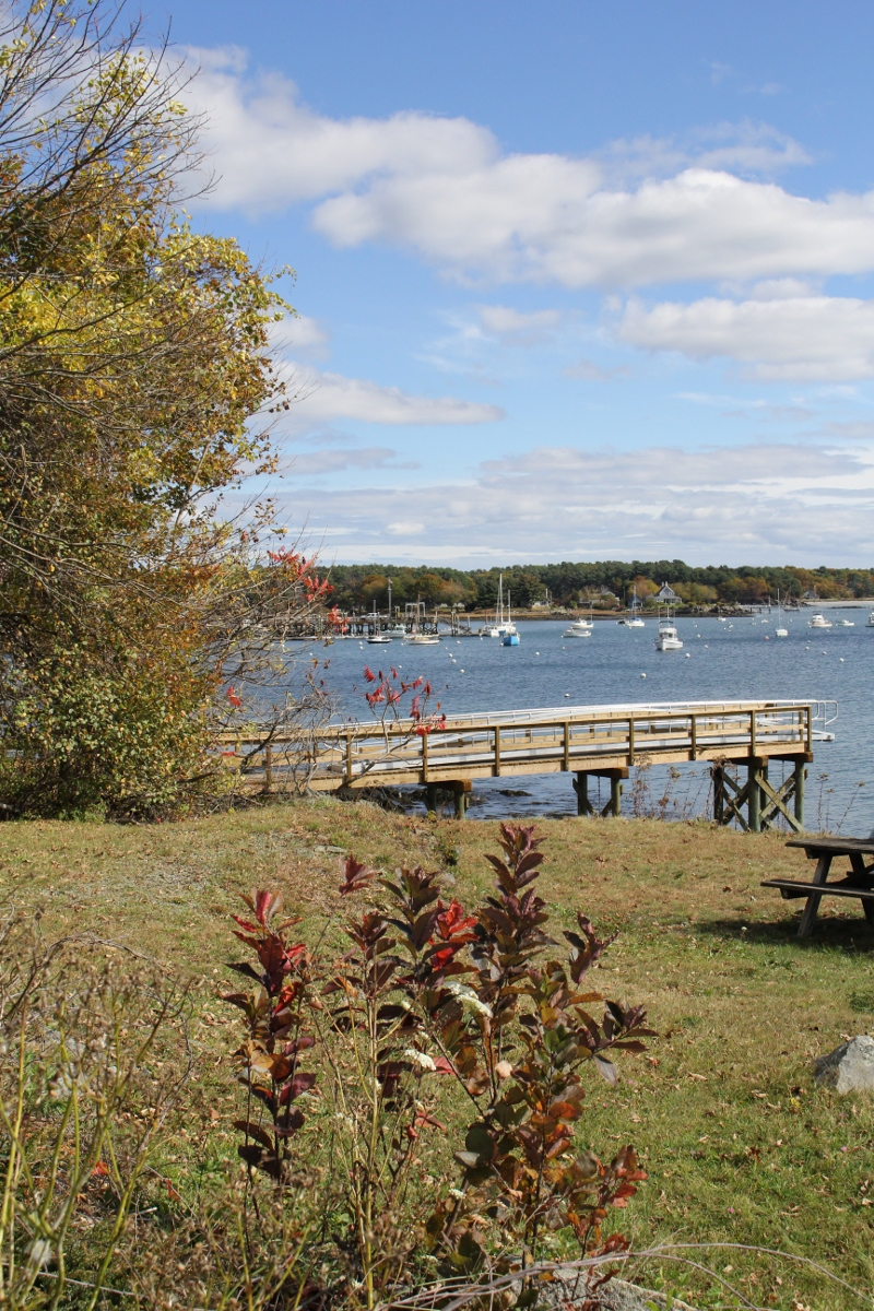 October Picnic at Fort McClary, Kittery, ME
