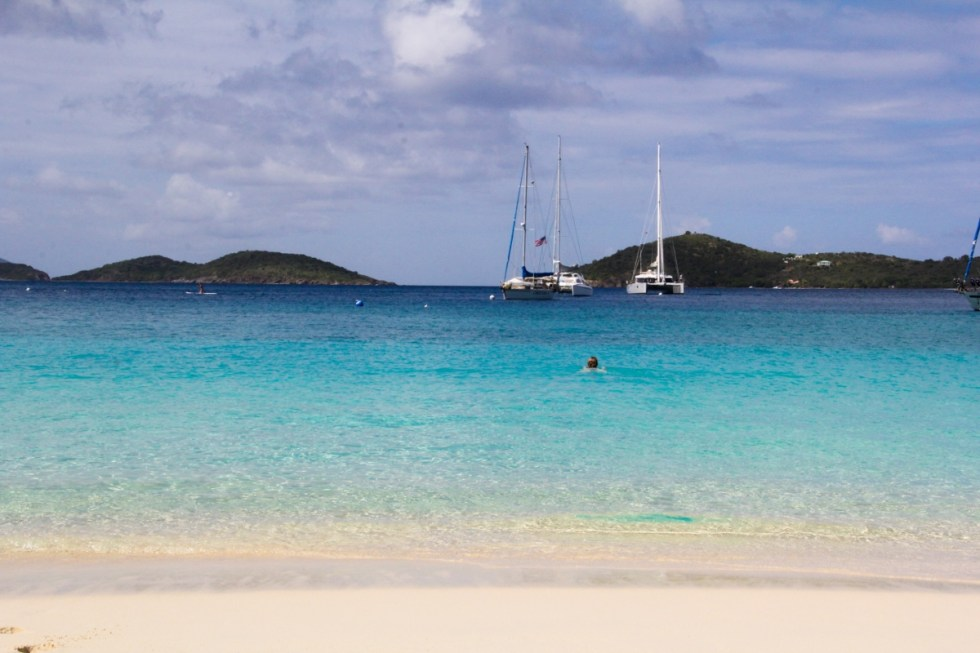 Honeymoon Beach, St. John - USVI Travelogue {Katie at the Kitchen Door}