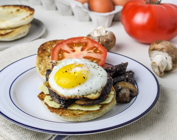 Full English Breakfast Sandwich with CBC English Muffins
