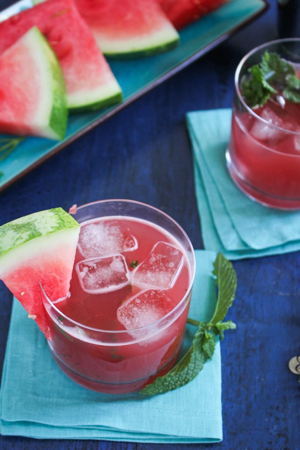 Watermelon Pisco Refresher {Katie at the Kitchen Door}