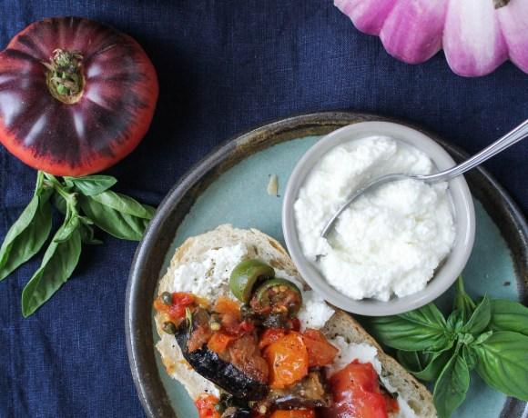 Sicilian Eggplant Caponata