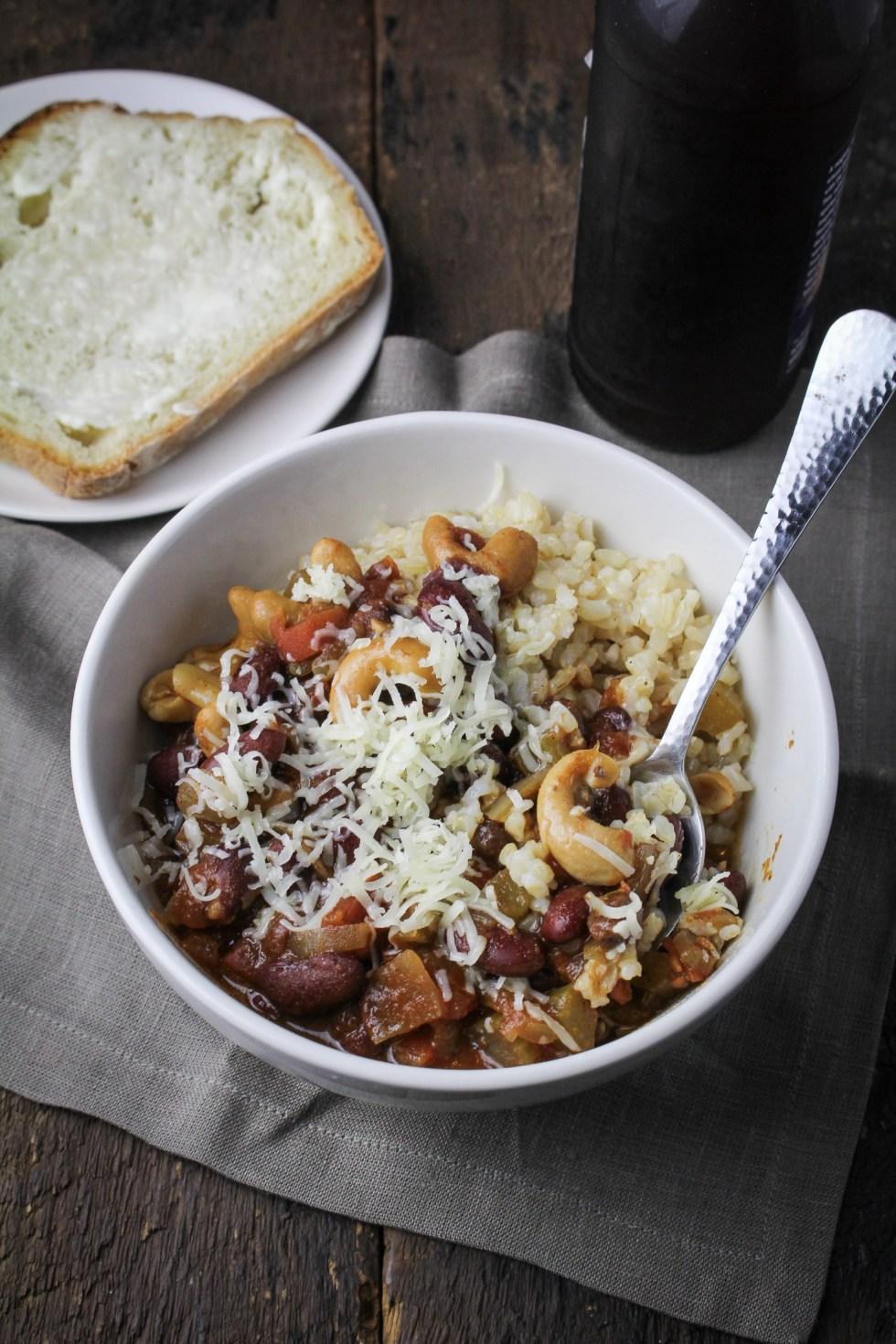 Vegetarian Chili {Katie at the Kitchen Door}