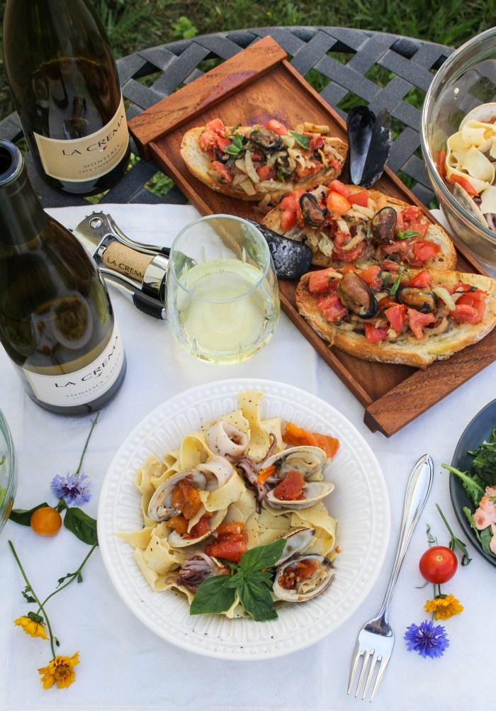 Italian Seafood Dinner {Katie at the Kitchen Door}
