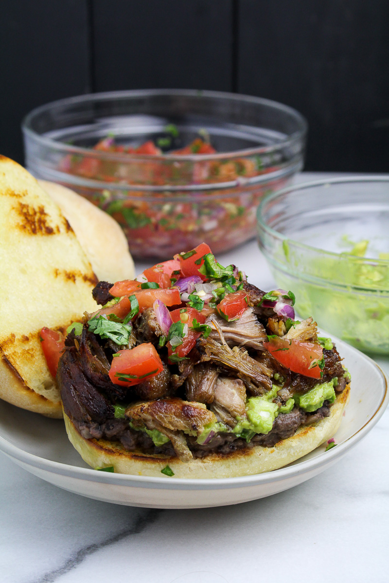 Torta de Carnitas {Katie at the Kitchen Door}