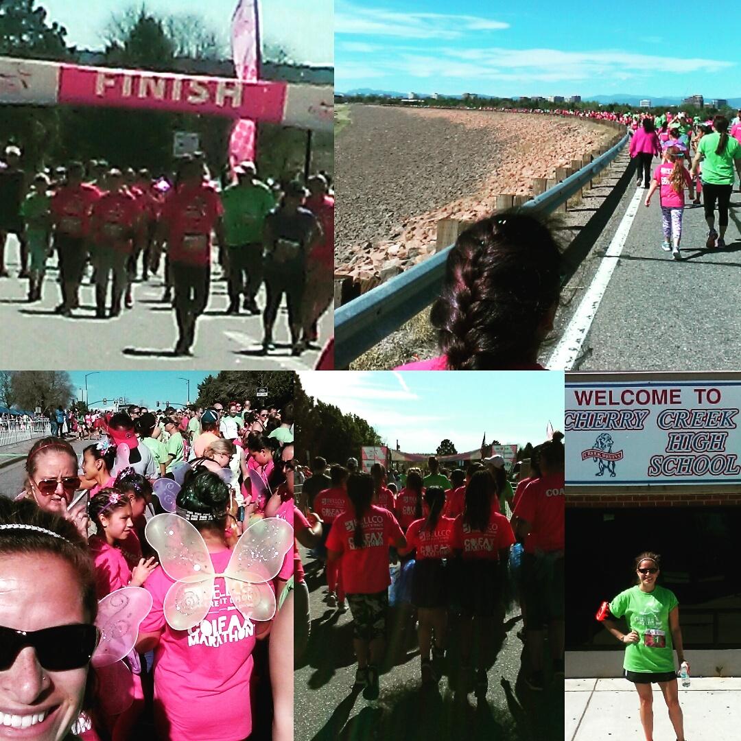 girls on the run, running buddy, GOTR, katie peek, katie bisbee-peek, peek counseling, 5K, Denver 5K, Denver therapist, giving back