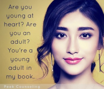 young adult counseling, counseling for young adults, counseling in denver, counselor in denver, therapist in denver, denver therapy, denver adolescent therapy, katie bisbee-peek, peek counseling