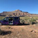 Campervan in Utah