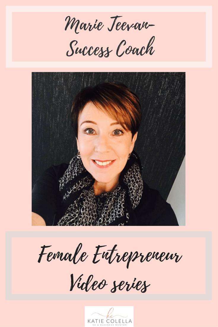 katie colella, katie colella social, female entrepreneur, success coach, video series