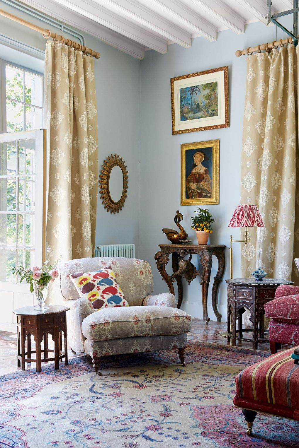 The French Country Home Of Textiles Dealer Susan Deliss
