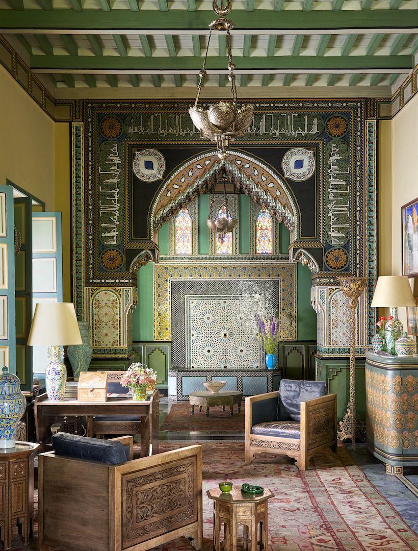 Yves Saint Laurents Private Moroccan Villa Katie Considers
