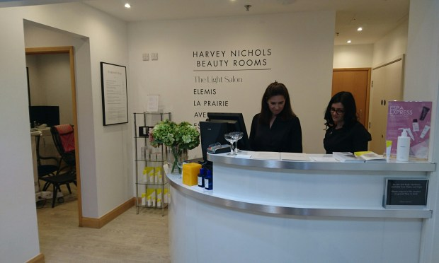 The Light Salon Harvey Nichols Leeds Beauty Rooms LED facial