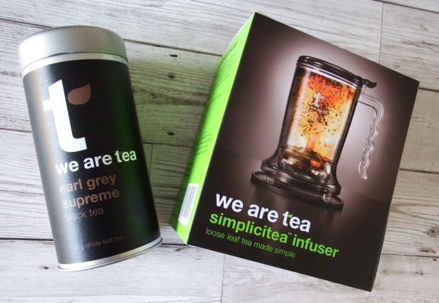 We Are Tea Simplicitea Infuser and Earl Grey Supreme Loose Leaf Tea