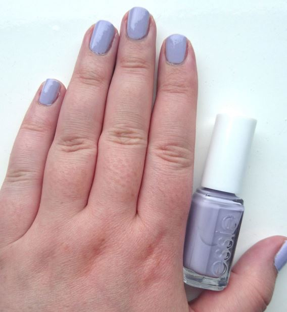 Nails of the Day // Essie - Virgin Snow // Pale Pastel Lilac ...