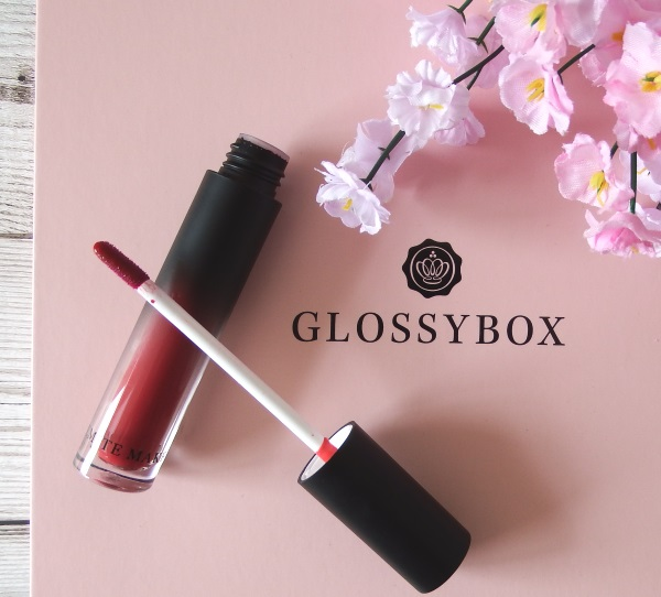 Glossybox June 2016 Review and Unboxing Emite Makeup Lip & Cheek Tint