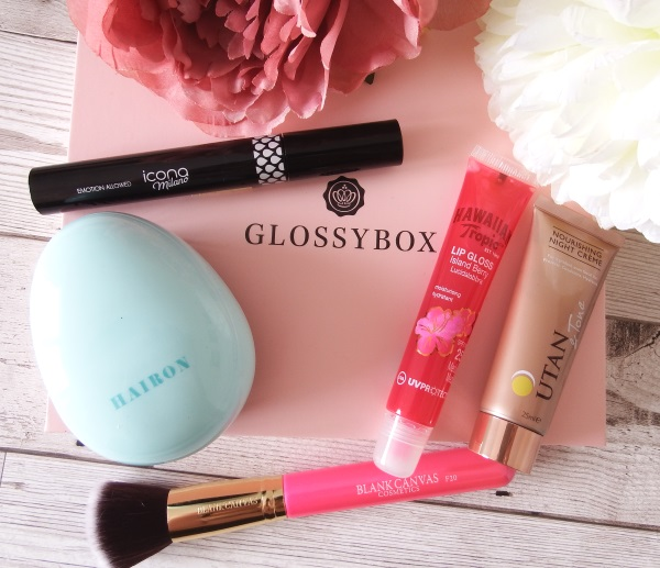 July 2016 Glossybox Review and Unboxing July Glossybox