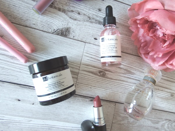 Dr Botanicals Moroccan Rose Facial Moisturiser and Facial Oil Reviews