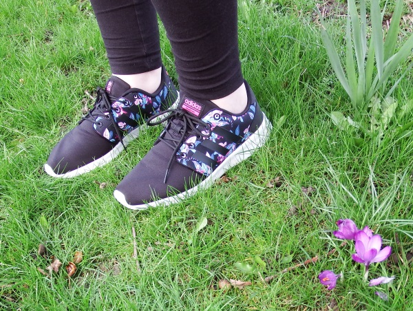 Adidas Cloudfoam QT Racer Trainers Review Floral Pattern Trainers Brantano