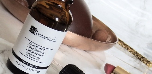 Dr Botanicals Cocoa Noir Time Reverse Facial Serum Review Natural Vegan Cruelty Free Skincare