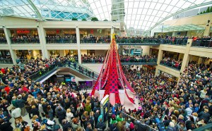 Trinity Leeds shopping centre: The world's longest designer dres