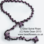 Beading Trends 2017: Crystal Spiral Rope