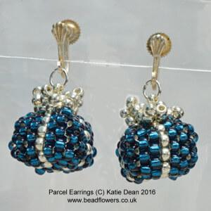 Parcel earrings for Jewellery Maker TV by Katie Dean