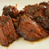 Crock Pot Barbecue Chuck Roast