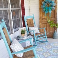 My Favorite Spring Porch