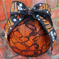 Lace Stocking Pumpkin