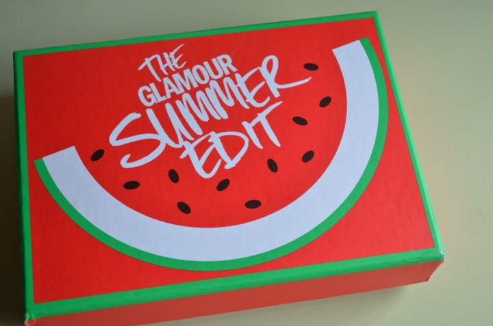 Latest In Beauty Subscription Box: The Glamour Summer Edi