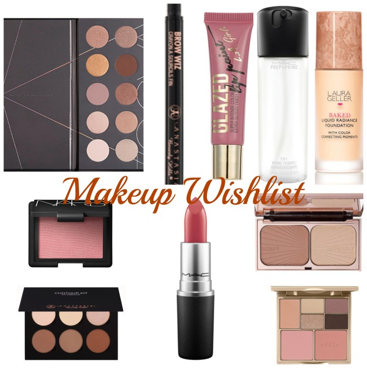 High End Makeup Wishlist