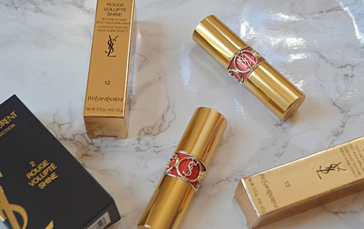 Review | YSL Rouge Volupte Shine Lipsticks