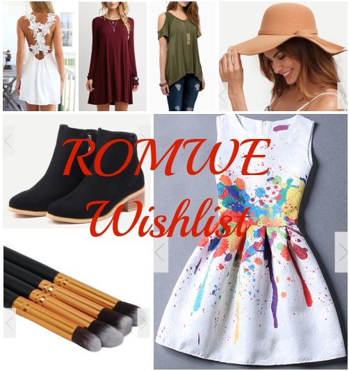 ROMWE Wishlist