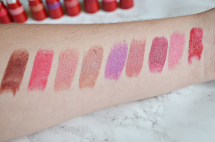 Rimmel The Only One Lipsticks Matte Review