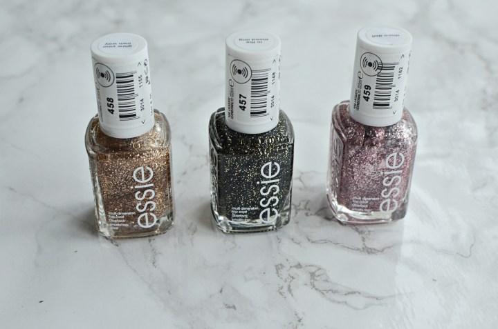 New | Essie Luxe Effects Glitter Polish Collection