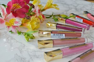 Max Factor Honey Lacquer Glosses Review