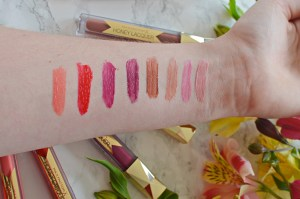 Max Factor Honey Lacquer Glosses Review and Swatches