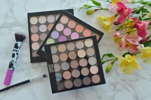 MUA 25 Eyeshadow Palettes Review
