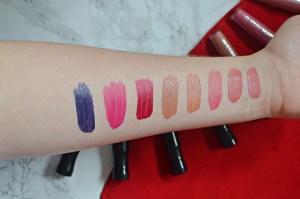 Rimmel Stay Matte Liquid Lipsticks Review and Swatches