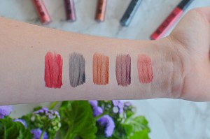 Maybelline Metallic Foil Lipsticks Review and Swatches