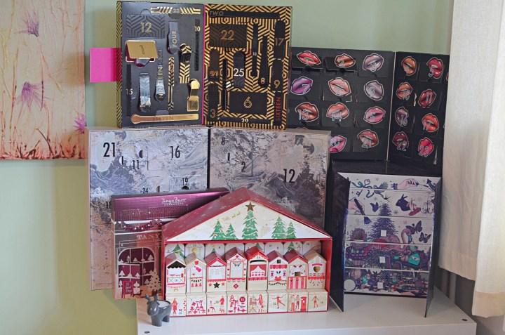 My beauty advent calendars
