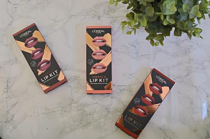 New | L'Oreal Cheryl's Lip Kits