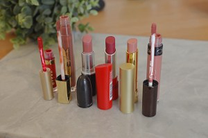 Lipsticks I've Worn This Week