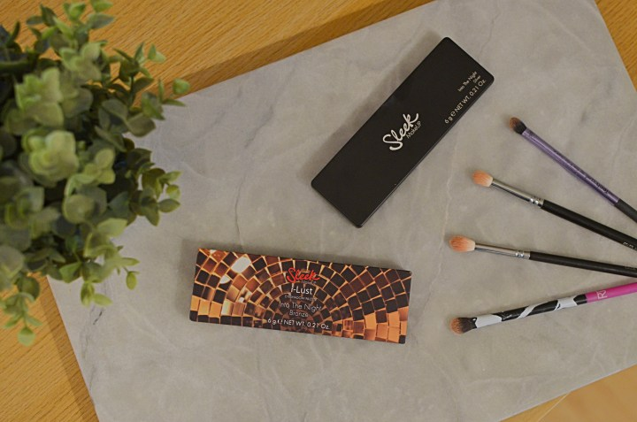 Sleek Into the Night Palettes Review