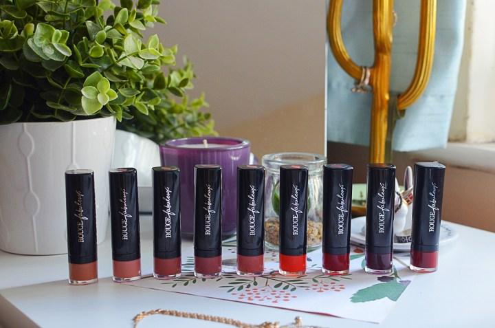New | Bourjois Rouge Fabuleux Lipsticks
