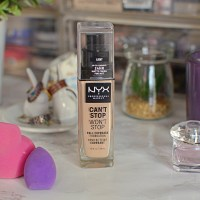New | NYX Can't Stop Won't Stop Foundation