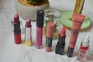 One Week In Lipsticks | September 2018